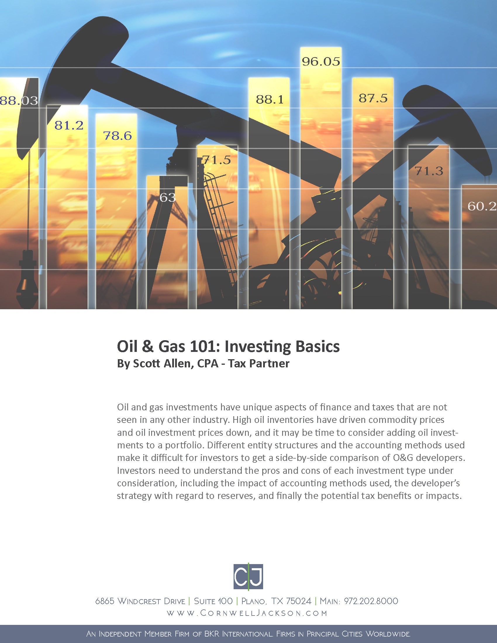 Cover - Oil and Gas 101 - Investing Basics by Scott Allen, CPA - A Whitepaper.jpg