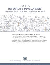 Cover - Take a Second (or Third) Look at R&D Credit Qualification.jpg