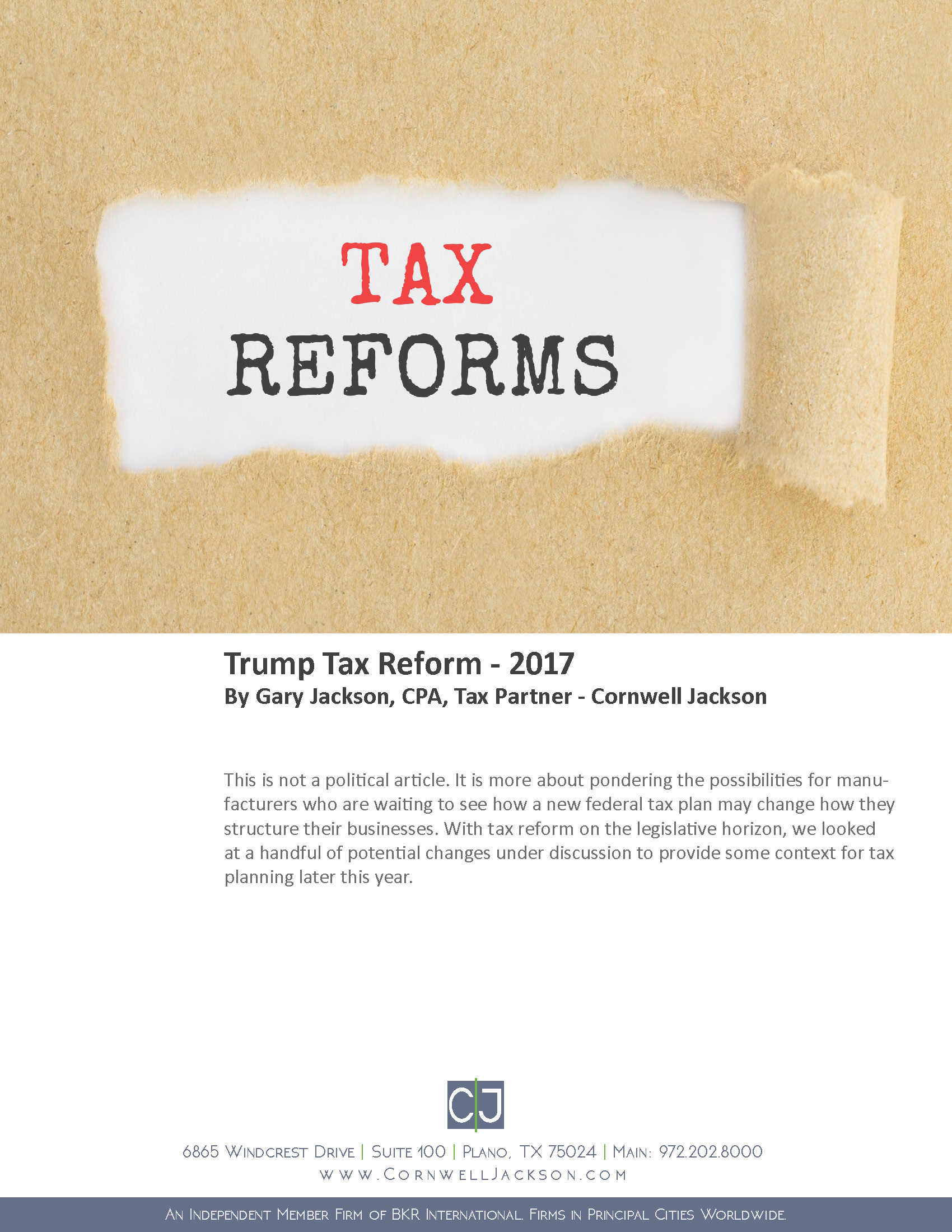 Cover - Trump Tax Reform 2017.jpg